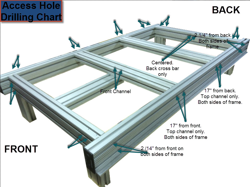 Aluminum Bed Frame Scrap